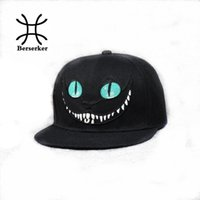 Wholesale Bugs Bunny Hat - Wholesale- New 2016 Alice in Wonderland Cheshire Cat cartoon baseball caps BUGS BUNNY SYLVESTER hats for Men and Women snapback hiphop bboy