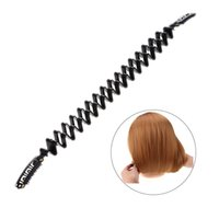 Wholesale Bob Hair Clip - Magic Braid Maker Tools Creating BOB Hair Roller Twist Clip Stick DIY BOBO Head Styling From Long Hair Become Short Accessories