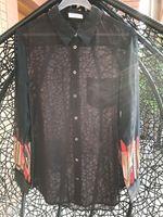Wholesale Ladies Shirt Button Design - silk apparel blouse shirt for ladies 2017 spring fashion design 100%silk chiffon with sandwash