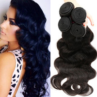Wholesale remy human hair soft resale online - 2017 Hot Brazilian Body Wave Bundles Mink Brazilian Virgin Hair Body Wave Bemiss Hair Products Soft Brazilian Human Hair Weave Bundles