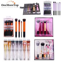 Wholesale Wholesale Real Technique Brushes - Real Techniques Makeup Brushes Set RT brushes face and eyes with box DHL free shipping