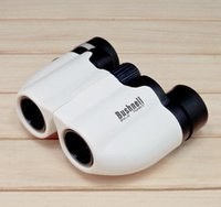 Wholesale x22 white binoculars Small blue coating High definition low light night vision binoculars