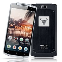 Wholesale Smartphone Android 2gb Ram - Oukitel k10000 Smartphone 5.5 Inch MTK6735 Quadcore 2GB RAM 16GB ROM Android Mobliephone 10000mAh Super Huge Battery 5.0MP+13.0MP Cellphone