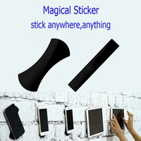 Wholesale Stickers For Tablets - Flourish Lama Amazing Nano Rubber Pad Recyclable Pads Super Power Force Sticker for Cellphone Pads Tablets Anything