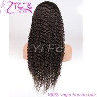 Wholesale black hair weave hairstyles - Deep Weave 130% Density Lace Front Human Hair Wigs For Black Women Brazilian Remy Hair Pre Plucked With Baby Hair