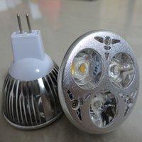 Wholesale Mr16 Led Lamp Socket - Top CREE 6W Bulb Lights GU10 E27 E26 MR16 Socket Led Lamp power led spotlights Warm Pure Cool white BY DHL
