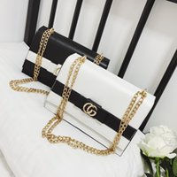 Wholesale Stripe Party Bags - Fashion Luxury Designer Handbags High Quality Valentine Italian Genuine Leather Bag Chain Crossbody Bags For Women Shoulder Bags