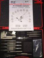 Wholesale tinfoil pick tools online - 2018 High Quality New Model HUK Original lastest th generation Tinfoil tools lock pick tool locksmith tool