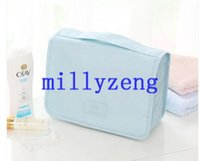 kosmetiktaschen verpackung groihandel-Mode wasserdicht Kosmetiktasche Reise tragbare Tasche große Kapazität Paket