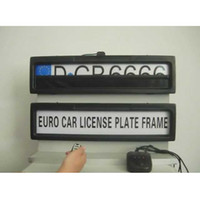 Wholesale Controlled Licence Plate Frame - Free shipping General steady Stealth Remote control car Privacy Cover Licence Plate frame keep vehicle safe suitable for Euro and Russia