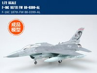 Wholesale Aircraft Model 72 - Wholesale- EASYMODEL scale model 37129 1 72 scale aircraft F-16C 187TH assembled model plane finished model does not need to assemble