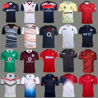 Wholesale Wales Rugby Jersey - free shipping 17 18 France England Scotland Wales Spain rugby jersey 2017 home rugby shirts Australia Ireland jerseys Best quality S~XXXL