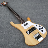 Wholesale Bass Guitar Woods - High quality,Transparent wood,body and the neck are a piece of wood, 4003 bass guitar,Real photos,free shipping!!!