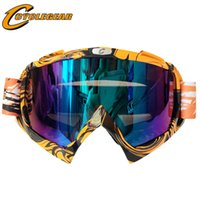 ingrosso occhiali da bicicletta-Occhiali moto Cyclegear ATV DH MTB Dirt Bike Occhiali Oculos Antiparras Gafas motocross Occhiali da sole CG08
