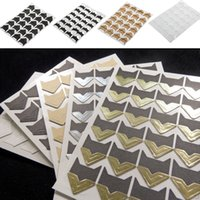 Wholesale Photo Corner Stickers - 24 pcs Self-adhesive Card Photo Frame Corner Stickers DIY Scrapbook Album KT0018