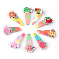 Wholesale Korean Cake Girl - Wholesale- Hot New Fashion Korean Acrylic Candy Cake BB Clips Hairpins Baby Girls Hair Clips Kids Children Barrettes Basic Hair Accessories