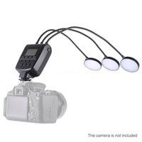 Wholesale Led Ring Flash Dslr - Travor ML-3D LED Macro Flash Speedlite GN31 5500K for Canon Nikon DSLR Camera