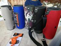 lanterna impermeável mp3 venda por atacado-Mini Xtreme Bluetooth alto-falantes ao ar livre subwoofer à prova d 'água com correias estéreo portátil MP3 player Suporte USB TF FM Epacket