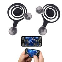 Jeu mobile Joystick Téléphone portable Fling Mini Game Rocker Touch Screen Joypad iPad Tablet PC Téléphone Dual Analog Game Controller Smart Clip