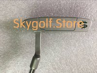 Wholesale Golf Clubs Weight - 1pc America USD SC Newport2 Golf Putter With 33 34 35inch Steel Shaft Money Dollar Maker Removable Weights 2 Models golf club putters new