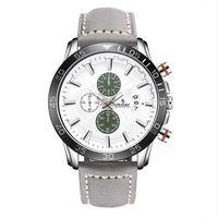 Wholesale Mens Grey Leather Belt - SENORS 005 NEW ARRIVAL Wrist Watch Men 2017 Top Brand Luxury Famous Wristwatch Quartz Watch Leather Belt Mens Watches Sports watch