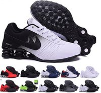 Wholesale Deep Online - New Shox Deliver Men Running Shoes Cheap Fashion Sneakers Shox Sale Online Top Quality Sport Shoes Size 40-46 Free Shipping