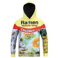 Wholesale Chicken 3d - Anime Hoodie Sweatshirt Men Hip Hop Mens Hoodies Male sweatshirt Winter Pullover 3d Printed Sweatshirts Chicken Pattern SX-120