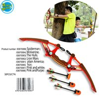Wholesale Dart Bow - Wholesale outdoor sports arrow set dart toy family interactive toy indoor outdoor shooting bow suit gift