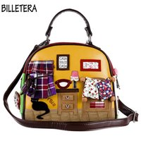 Wholesale handmade phone - Wholesale-Women Shoulder Bag Fashion Women Handbag Retro Handmade Messenger Cross Body Bag Bolsa Feminina