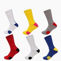 Wholesale Long Striped Socks For Men - Football Sock High Quality Nice Pattern Long Stockings For Men Anti Skid Striped Sports Socks Multi Color Optional 3 5qy F1