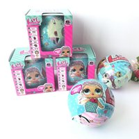 Wholesale Retail Jumpsuits - Surprise Doll LOL Baby Dolls Series 2 Sleep Girls Children Toys Jumpsuits Bottle Sucking Dancing Kids Multi-Functions With Retail Package
