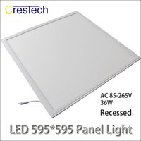 Wholesale Indoor Lights China - led lights china ultra thin led light Ceiling light 600 595 LED indoor lighting Panel lamp 6063 Aluminum Epistar Chips shipping via Fedex