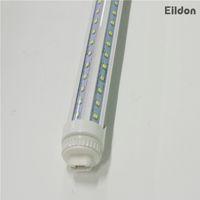 direkt ampuller toptan satış-T8 LED Tüp Işıklar 5ft 40W V şeklinde Tek Pimli FA8 R17D AC85-265V PF0.95 3600LM 240LEDs 2835SMD Floresan Ampüller