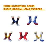 Wholesale Body Rocket - 2017 18 new hot money European men's sports socks all-star lakers knight clippers rocket James kirby durant basketball series socks wholesal