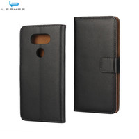 Wholesale Lg G2 Credit Case - For LG G6 G5 G4 G2 Mini K10 V20 Genuine Flip Leather Case Wallet Credit Card Holder Stand Magnetic Cover Shockproof