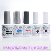Wholesale Gel Polish Prices - 150pcs Harmony Gelish High quanity best price 287 colors nail Gel Polish Nail Art Salon 15ml uv soak off gel Dry With UV Lamp Varnish