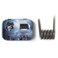 Wholesale Good Starts - Getting started DIY your Vape Demon Killer Wire Tri-twisted clapton coil Alien version2 coil clapception Framed Tsuka coil Good sell product