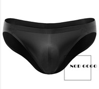 Wholesale Icing Smoother Wholesale - Fine Wholesale new - Seamless Ice Silk Breathable Men Briefs Super Smooth Drying-Fast Male Underwear Suiting Special