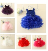 Wholesale party fantasia - Girls Dress Summer 2017 Princess Baby Girl Clothes Children Clothing Birthday TuTu Dresses Christmas Party Fantasia