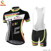 Wholesale Bib Tops Red - Summer Cycling Jerseys Ropa Ciclismo Breathable Bike Clothing Quick-Dry Bicycle Sportwear Ropa Ciclismo GEL Pad Bike Women Bib Pants