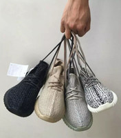 Wholesale Womens Lace Oxford Flats - 2017 Boost 350 Pirate Black Turtle Dove Moonrock Oxford Tan Mens Running Shoes Womens Kanye West Boosts 350 V1 Season With Original Box