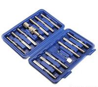 ingrosso chiusura lampo kaba-Nuovo arrivo Kaba e Dimple Lock kit di attrezzi per fabbro apriscatole 14 pezzi pacchetto fabbro per HUK lock pick KLOM strumento di lockpicking