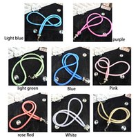 Luxe de luxe Glitter Diamond Phone Lanyard Straps Fashion Cell Phone Charms Colorful Long Neck ID Cards Mobile Bag Rope Chain