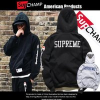 Wholesale 2017 new design Marchlo burlo Tide brand behind the letter Hoodie and street hooded hoodies black lovers