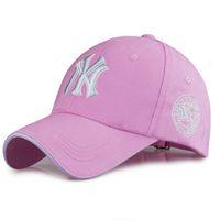 Wholesale Ny Caps Snapbacks - Yankees Hip Hop MLB Snapback Baseball Caps NY Hats MLB Unisex Sports New York Adjustable Women Casquette Men Casual Headware 11 Color