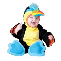 Wholesale Parrot Halloween Costume - InCharacter baby Christmas Animals parrots costumes Halloween Christmas Easter cute