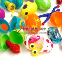Wholesale Measuring Eggs - 12 Toys Filled Easter Eggs Surprise Eggs Measure 2 Inches Great for Easter Eggs Hunt Easter Party Favors Supplies Pinata Gifts