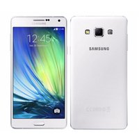Wholesale A7 4g - Original refurbished Samsung Galaxy A7 A7000 4G LTE Mobile Phone Octa-core 5.5'' 13.0MP 2G RAM 16G ROM Dual SIM unlocked phone