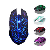 Wholesale AZZOR M6 GHz Rechargeable Wireless Optical USB Gaming Mouse DPI LED Lighting Professional Game Mice for PC Tablets Laptop