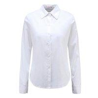 Wholesale Blusas Moda - Moda Jihan New Women Blouses & Shirts Turn Down Collar Long Sleeve Female Shirts 100% Cotton Soft Clothing Female Tops Blusas